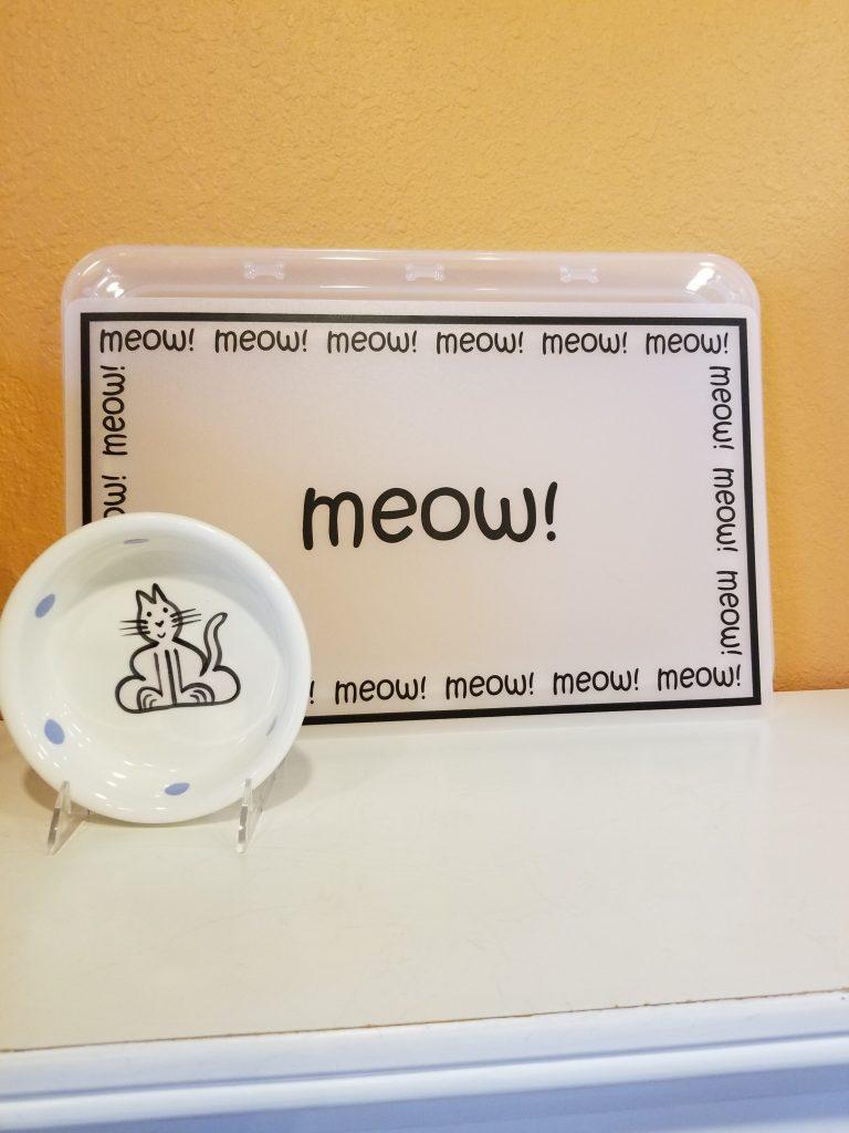 Cat Bowls, Ceramic Cat Bowls, Pet Store   Goodness For Pets
