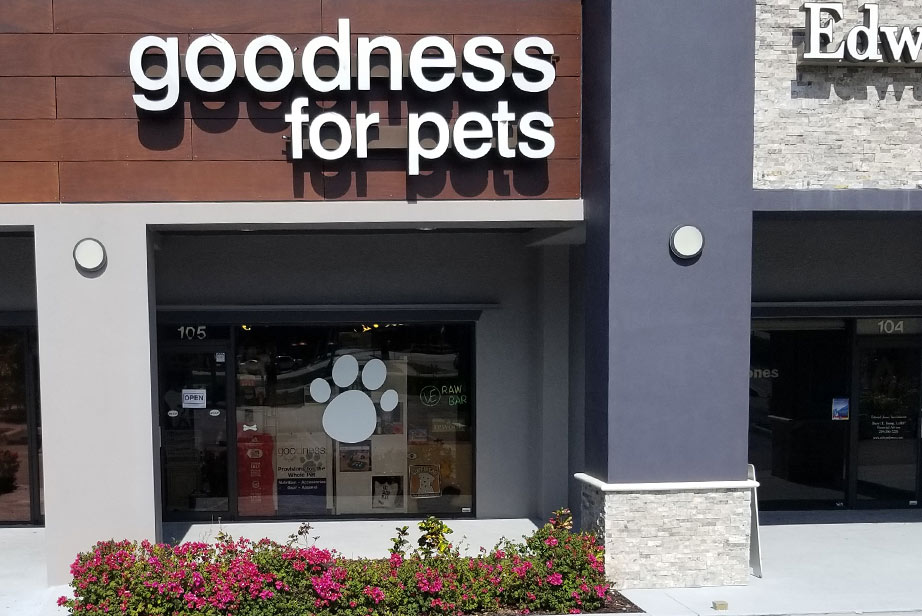 Goodness for Pets | All Natural Dog & Cat Supply Store Naples, Florida
